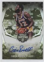 Cazzie Russell #/25