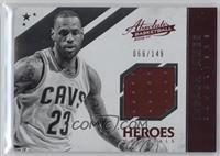 LeBron James #66/149