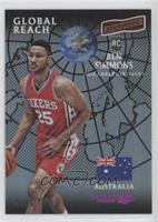 Global Reach - Ben Simmons #/99