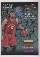 Global Reach - Jonas Valanciunas #/99