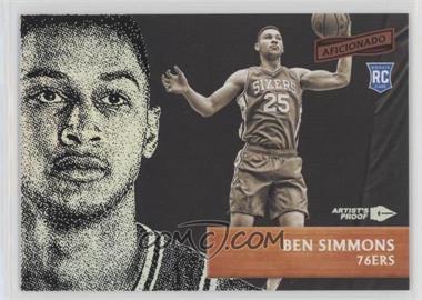 2016-17 Panini Aficionado - [Base] - Artist's Proof #35 - Ben Simmons
