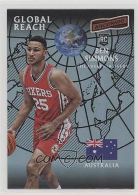 2016-17 Panini Aficionado - [Base] #117 - Global Reach - Ben Simmons