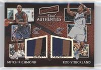 Mitch Richmond, Rod Strickland #/25