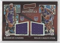 DeMarcus Cousins, Willie Cauley-Stein #/299
