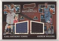 Andrew Wiggins, Karl-Anthony Towns #/299