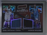 Andrew Wiggins, Karl-Anthony Towns /299