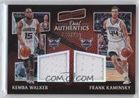Frank Kaminsky, Kemba Walker #/299