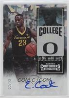 College Ticket Variation - Elgin Cook /23