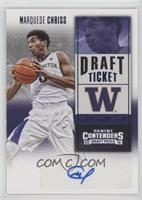College Ticket - Marquese Chriss (White Jersey)