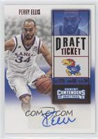 College Ticket - Perry Ellis (White Jersey)
