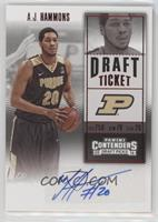 College Ticket - A.J. Hammons
