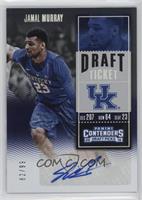 College Ticket Variation - Jamal Murray (Blue Jersey) #/99