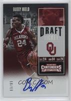 College Ticket - Buddy Hield (Red Jersey) #/99