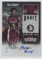 College Ticket - Malik Beasley (Red Jersey) #/99