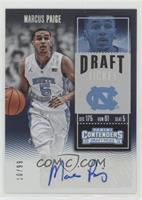 College Ticket - Marcus Paige /99