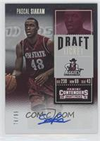 College Ticket - Pascal Siakam /99