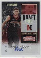 College Ticket - David Walker /99