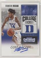 College Ticket - Brandon Ingram (White Jersey)