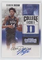 College Ticket Variation - Brandon Ingram (Dark Jersey)