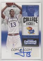 College Ticket Variation - Cheick Diallo (Kansas Jersey)