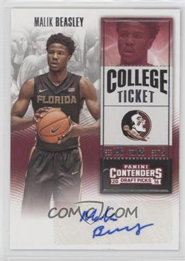 2016-17 Panini Contenders Draft Picks - [Base] #124.2 - College Ticket Variation - Malik Beasley