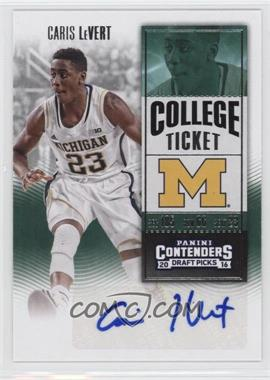2016-17 Panini Contenders Draft Picks - [Base] #125.1 - College Ticket - Caris LeVert