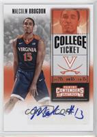 College Ticket - Malcolm Brogdon (Blue Jersey)