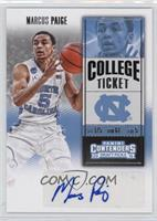 College Ticket - Marcus Paige