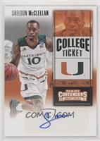 College Ticket - Sheldon McClellan [EXtoNM]