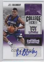 College Ticket - Joel Bolomboy