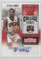 College Ticket - Derrick Jones
