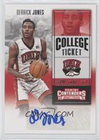 College Ticket - Derrick Jones