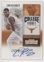 College Ticket - Cameron Ridley
