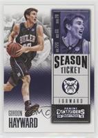Season Ticket - Gordon Hayward