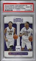 Ben Simmons, Tim Quarterman [PSA 10 GEM MT]