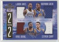 Draymond Green, Kyrie Irving, LeBron James, Stephen Curry /99