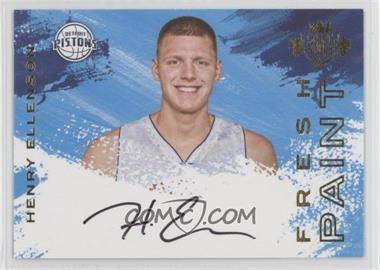 2016-17 Panini Court Kings - Fresh Paint Autographs - Variations #FP-HEE2 - Henry Ellenson /200
