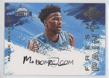 2016-17 Panini Court Kings - Fresh Paint Autographs - Variations #FP-MBE2 - Malik Beasley /200