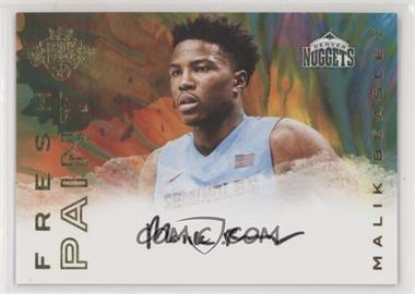 2016-17 Panini Court Kings - Fresh Paint Autographs #FP-MBE - Malik Beasley