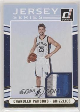 2016-17 Panini Donruss - Jersey Series - Prime #9 - Chandler Parsons /10 [EX to NM]