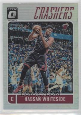 2016-17 Panini Donruss Optic - Crashers - Holo Silver Prizm #2 - Hassan Whiteside