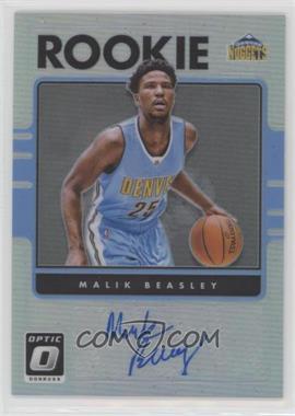 2016-17 Panini Donruss Optic - Rookie Signatures - Holo #32 - Malik Beasley