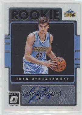 2016-17 Panini Donruss Optic - Rookie Signatures #31 - Juan Hernangomez