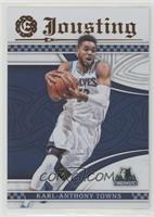 Left - Karl-Anthony Towns