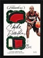 Clyde Drexler #/5