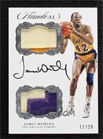 James Worthy [Noted] #/20