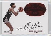 George Gervin /15