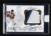 Karl-Anthony Towns [Uncirculated] #/10