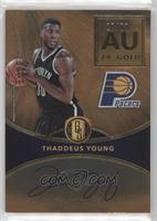 Thaddeus Young [EX to NM] #/79