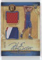 Rookie Jersey Autographs Double Prime - Henry Ellenson /25